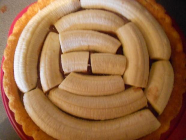 Schoko-Bananenkuchen - Rezept