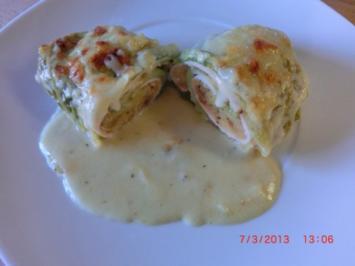 Rezept: Wirsing-Kartoffelröllchen