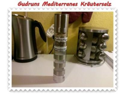 Gewürze: Mediterranes Kräutersalz - Rezept