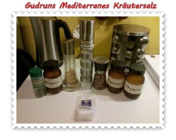 Gewürze: Mediterranes Kräutersalz - Rezept - Bild Nr. 2