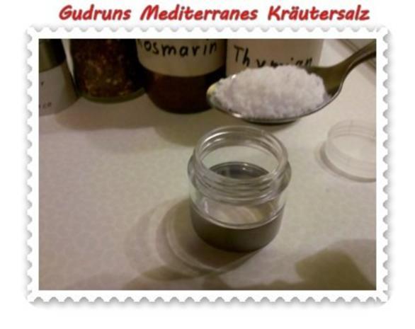 Gewürze: Mediterranes Kräutersalz - Rezept - Bild Nr. 3