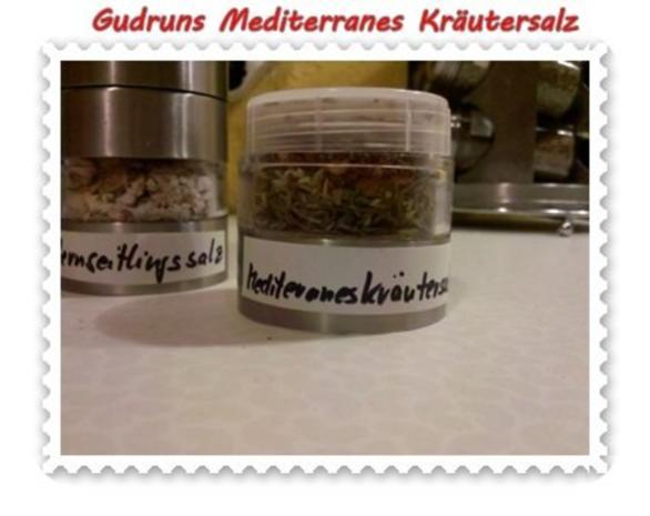 Gewürze: Mediterranes Kräutersalz - Rezept - Bild Nr. 4