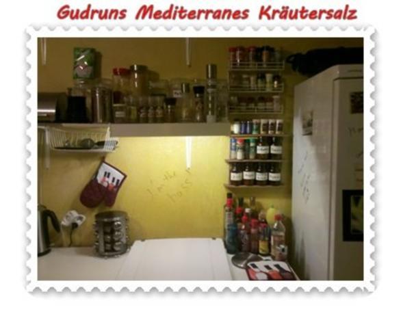 Gewürze: Mediterranes Kräutersalz - Rezept - Bild Nr. 5