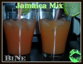 BiNe` S JAMAICA MIX - Rezept