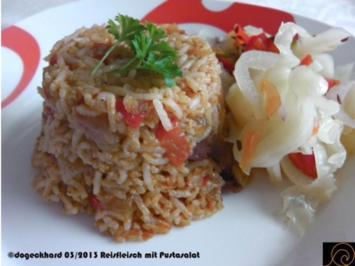 Rezept: Schnelles Reisfleisch