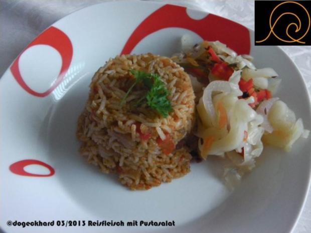 Schnelles Reisfleisch - Rezept - Bild Nr. 2