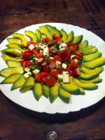 Ente in Honig -Orange an sommerlichen Salat - Rezept - Bild Nr. 5