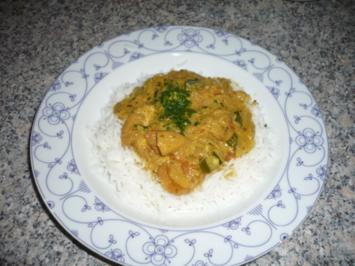 indisches Chicken Curry - Rezept