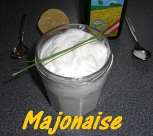 "30 Sekunden "" Mayonaise fettarm "" ohne Ei - Rezept"