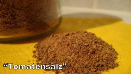 Tomaten Salz - BASICS - Rezept