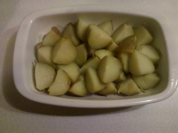 Kartoffeln: Kartoffelauflauf mit Mangold - Rezept - Bild Nr. 3