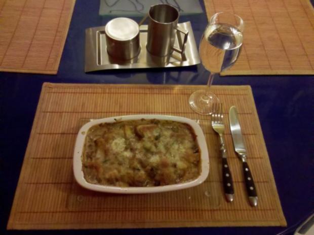 Kartoffeln: Kartoffelauflauf mit Mangold - Rezept - Bild Nr. 9