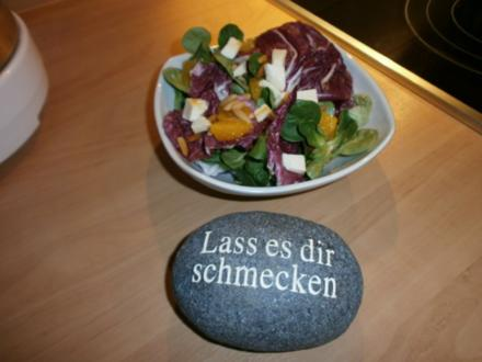 Salat Herzhaft mit Sekt - Rezept