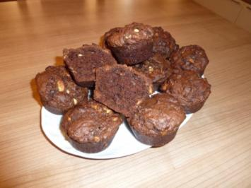 Triple Chocolate Chip Muffins - Rezept