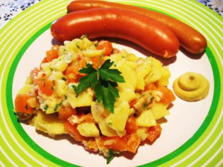 Die wunderbare Vermehrung von einem Rest Kartoffelsalat ... - Rezept
