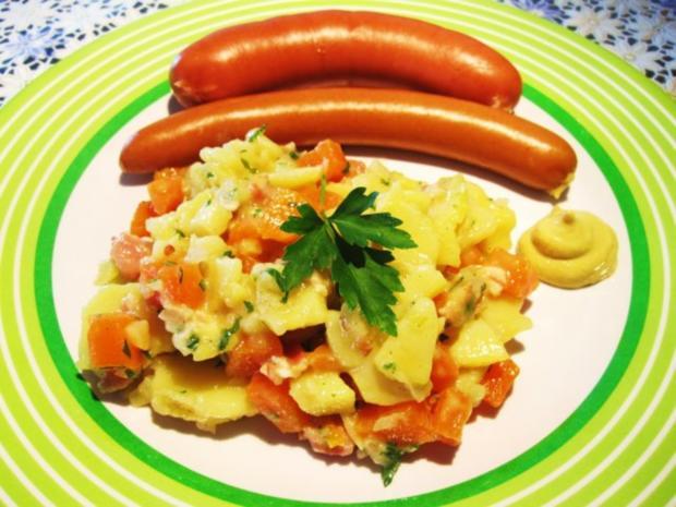 Die wunderbare Vermehrung von einem Rest Kartoffelsalat ... - Rezept - Bild Nr. 6