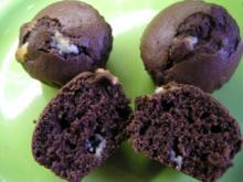 Schoko Muffins 18 Stück - Rezept