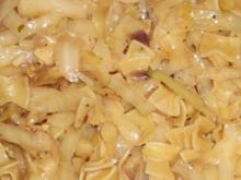 Krautfleckerl pikant - Rezept