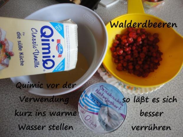 Vanille Creme mit Erdbeer Sahne und Knusper Brösel - Rezept - Bild Nr. 7