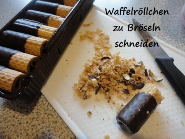 Vanille Creme mit Erdbeer Sahne und Knusper Brösel - Rezept - Bild Nr. 4