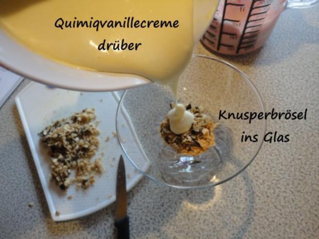 Vanille Creme mit Erdbeer Sahne und Knusper Brösel - Rezept - Bild Nr. 9