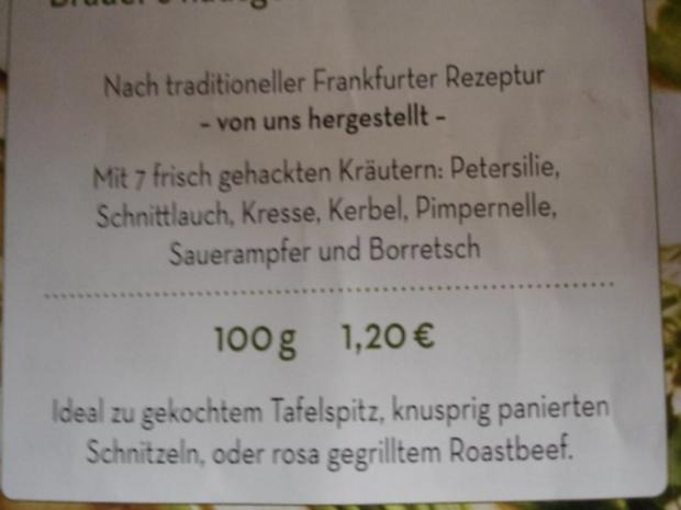 Tafelspitz mit Kartoffelpilzen und Grüner Sauce - Rezept - Bild Nr. 3