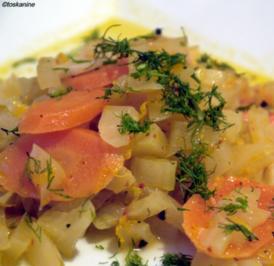 Möhren-Fenchel-Gemüse - Rezept