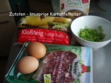 Knusprige Kartoffelplätzchen - Rezept