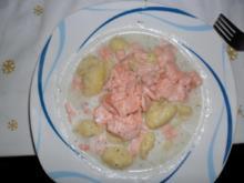 Gnocchi mit Lachs-Dill-Sauce - Rezept