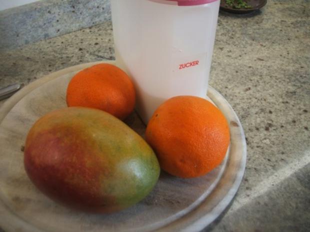 Vorrat: Mango-Orangen-Mus - Rezept - Bild Nr. 3