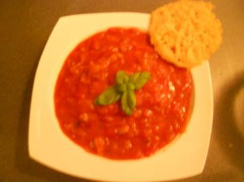 Tomaten-Lauchsuppe - Rezept