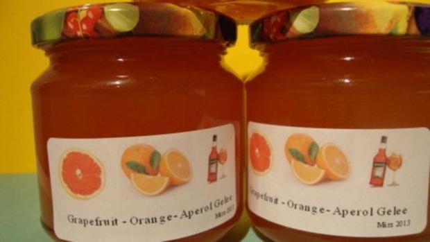 Grapefruit-Orange-Aperol Gelee - Rezept - Bild Nr. 5