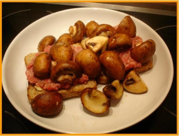 Champignon Toast - Rezept - Bild Nr. 5