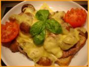 Champignon Toast - Rezept