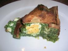 Torta Pasqualina - eine italienische, österliche Spinattorte - Rezept