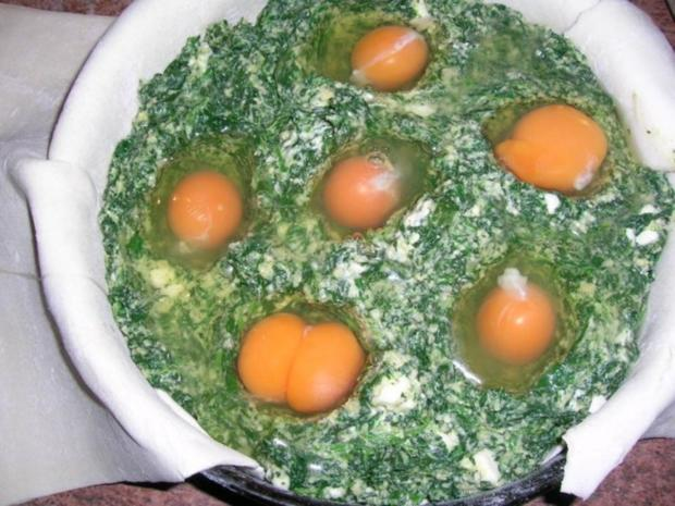 Torta Pasqualina - eine italienische, österliche Spinattorte - Rezept - Bild Nr. 6