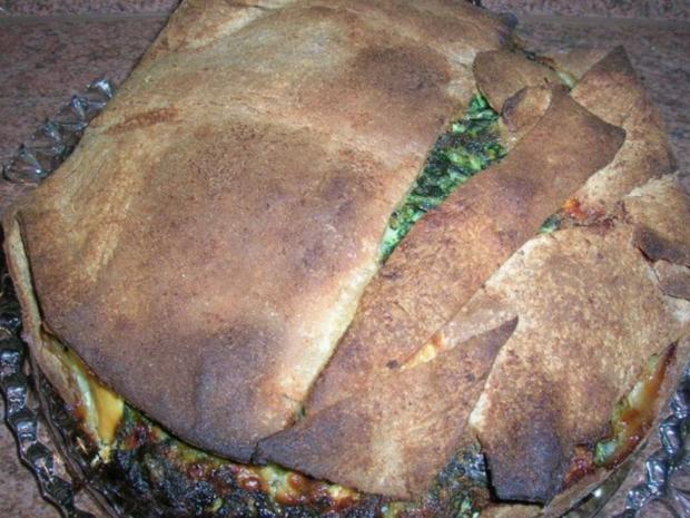 Torta Pasqualina - eine italienische, österliche Spinattorte - Rezept - Bild Nr. 8