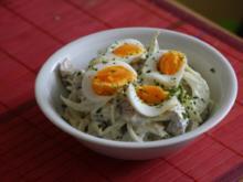 Heringssalat mit Ei und Curry - Rezept