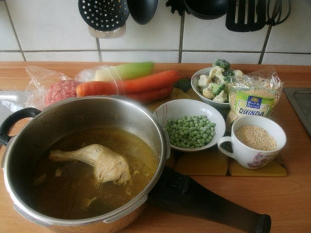 Hühnergemüseeintopf mit Quinoa - Rezept - Bild Nr. 2
