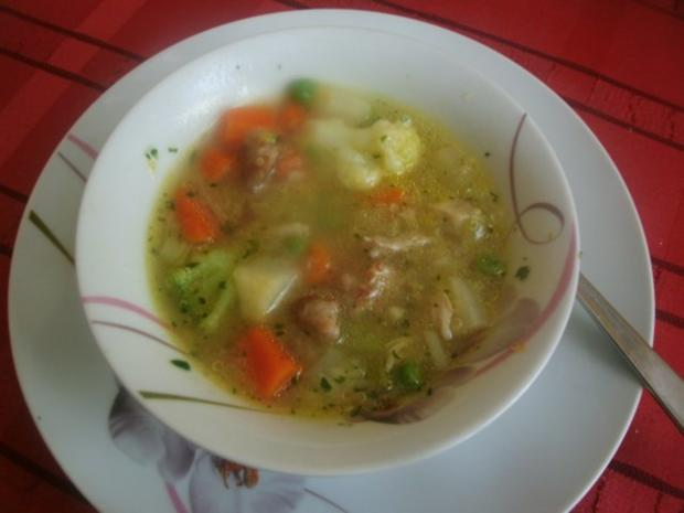 Hühnergemüseeintopf mit Quinoa - Rezept