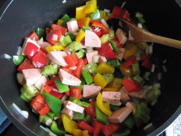 Bunte Gemüsepfanne - Rezept
