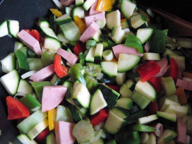 Bunte Gemüsepfanne - Rezept - Bild Nr. 2