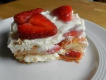 Erdbeer Tiramisu - Rezept