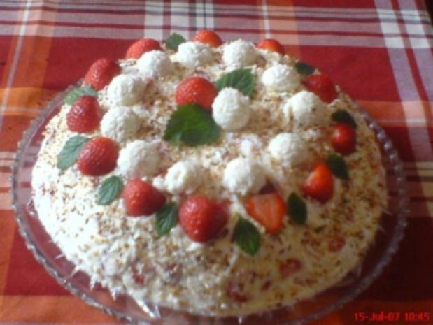 Raffaello-Torte - Rezept