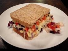Überfülltes Sandwich - Rezept