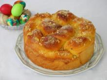 Süßes bulgarisches Osterbrot - Kusunak - Rezept