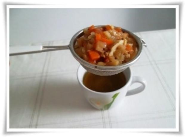 Zarte Gänsekeule mit Gemüse geschmort - Rezept - Bild Nr. 13
