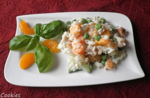 Fruchtig - bunter Reissalat - Rezept - Bild Nr. 4