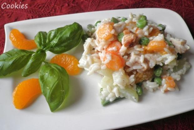 Fruchtig - bunter Reissalat - Rezept - Bild Nr. 3