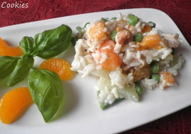 Fruchtig - bunter Reissalat - Rezept - Bild Nr. 12